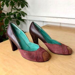 Anthro Farylrobin Art Deco Style Heels